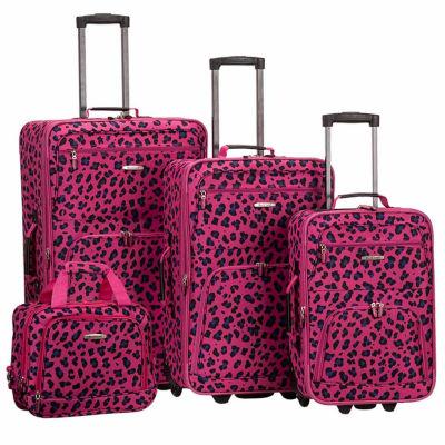 Rockland Expandable 4-pc. Hardside Luggage Set