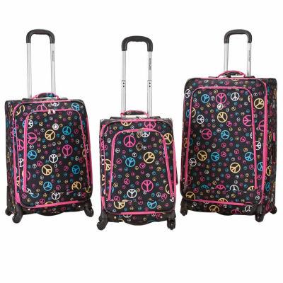 Rockland Fusion 3-pc. Hardside Luggage Set