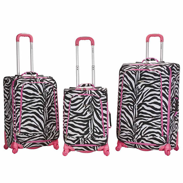 Rockland Fusion 3-pc. Hardside Luggage Set