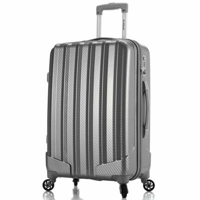 Rockland Metallic 3-pc. Hardside Luggage Set