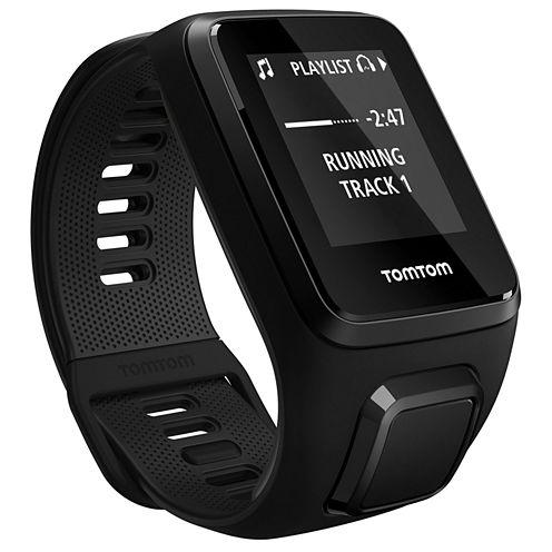 TomTom Spark 3 Large Cardio + Music Black Smart Watch-1RKM00210