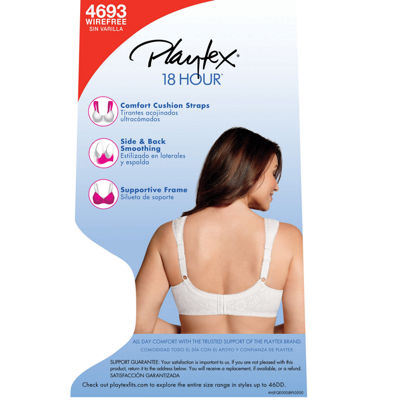 Playtex 18 Hour® Comfort Strap® Wireless Full Coverage Bra-4693