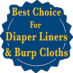 Gerber 10 Pair Cloth Diapers Unisex
