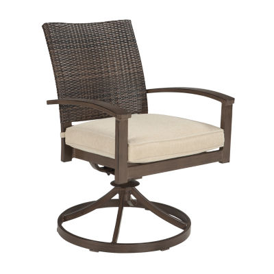 Outdoor by Ashley® Aruba Swivel Chair - Set of 2