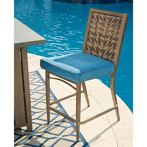 Outdoor by Ashley® Fiji Barstool - Set of 4