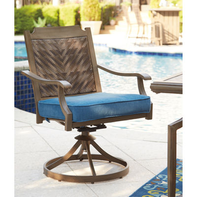 Outdoor by Ashley® Fiji Swivel Chair - Set of 2