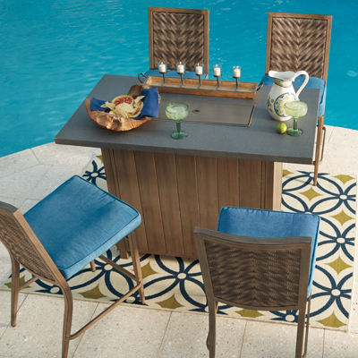 Outdoor by Ashley® Fiji Bar Table