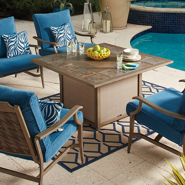 Outdoor by Ashley® Fiji Fire Pit Table