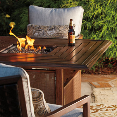 Outdoor by Ashley® Pele Fire Pit Table