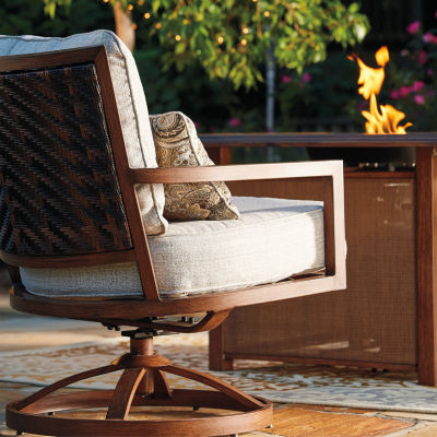 Outdoor by Ashley® Pele Swivel Chair - Set of 2