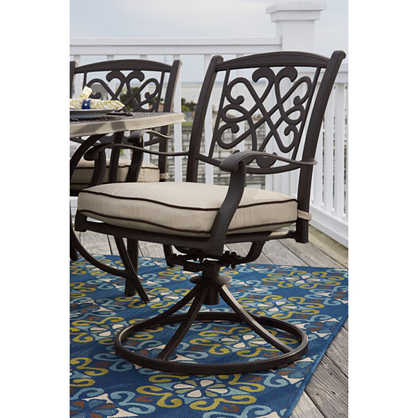 Outdoor by Ashley® Mali Swivel Chair - Set of 2