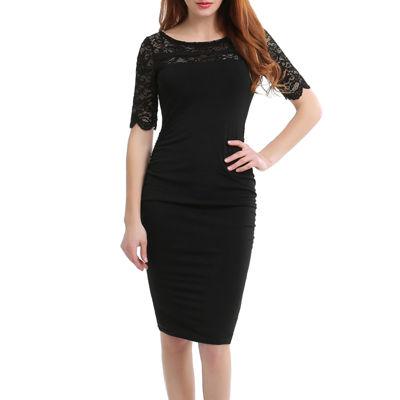 Phistic Sophia Elbow Sleeve Bodycon Dress