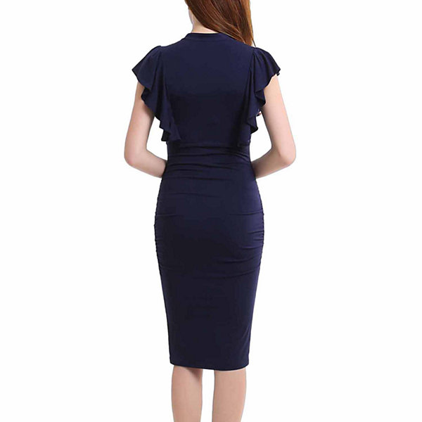 Phistic Amy Short Sleeve Sheath Dress