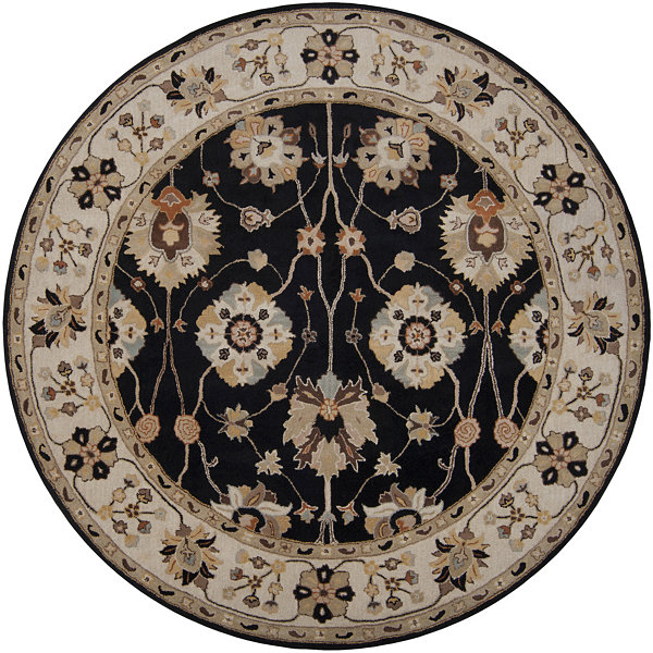Decor 140 daigo hand tufted round rugs jcpenney for Decor 140 rugs