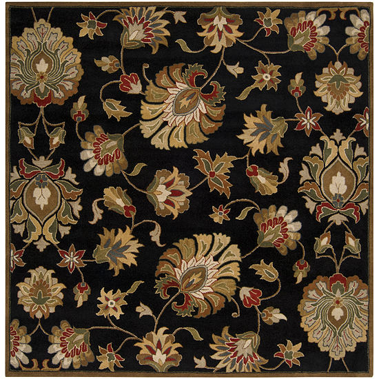 Decor 140 Claudius Hand Tufted Square Indoor Rugs