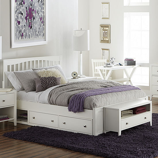 Possibilities Mission Bed with Storage
