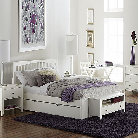 Possibilities Mission Bed with Trundle