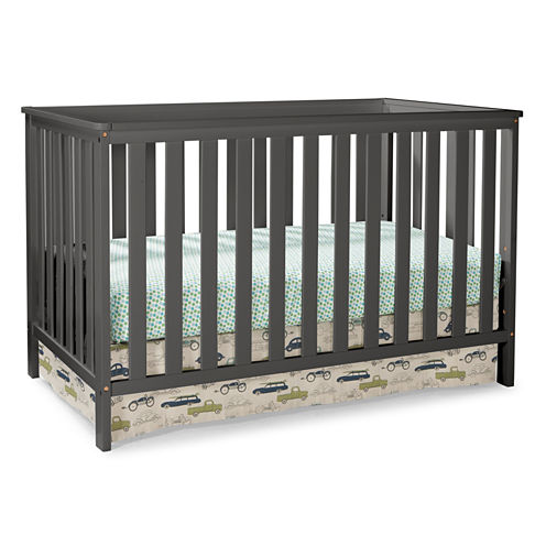 Storkcraft Roseland 3-in-1 Convetible Crib- Grey