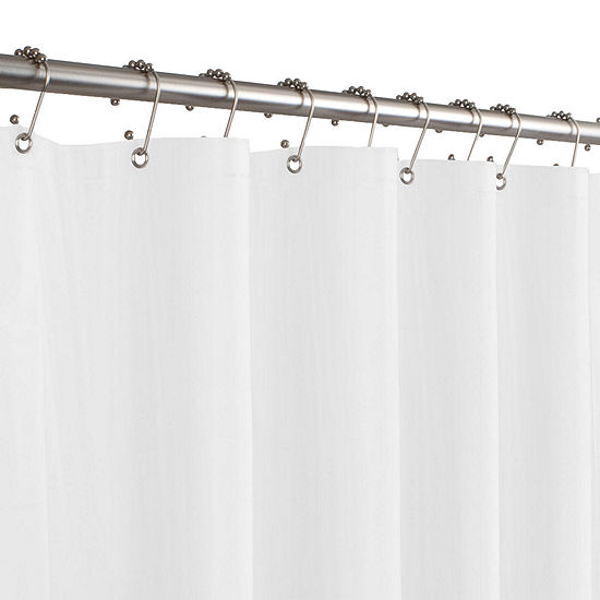 "Maytex 5-Gauge 70""x71"" PVC Shower Curtain Liner"