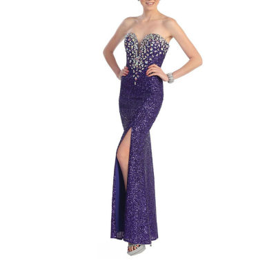 Sexy Sweetheart Fully Sequined Long Dress