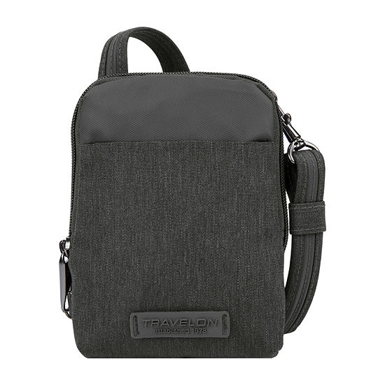 Travelon Anti-Theft Metro Stadium Mini Crossbody Bag
