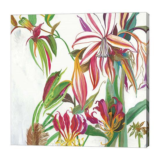 Metaverse Art Tropical III Canvas Art