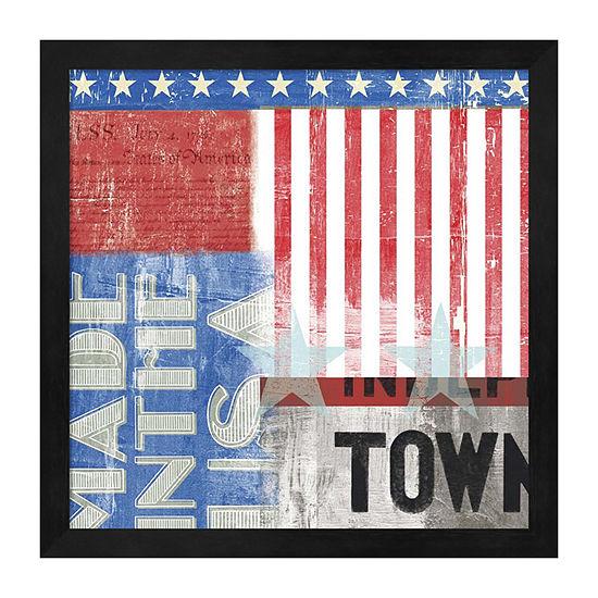 Metaverse Art USA Framed Wall Art