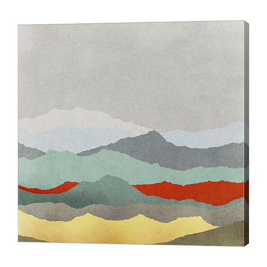Metaverse Art Vast Plains Ii Canvas Art