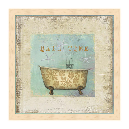 Metaverse Art Bath Time Framed Wall Art