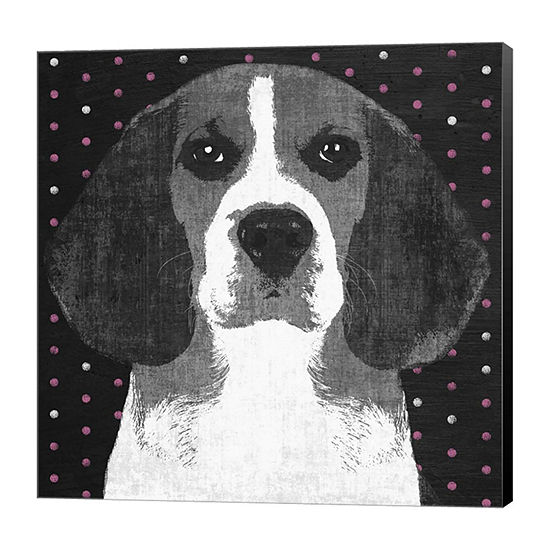 Metaverse Art Beagle Canvas Art
