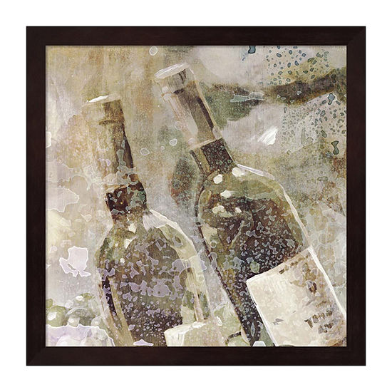 Metaverse Art Wedding Wine II Framed Wall Art