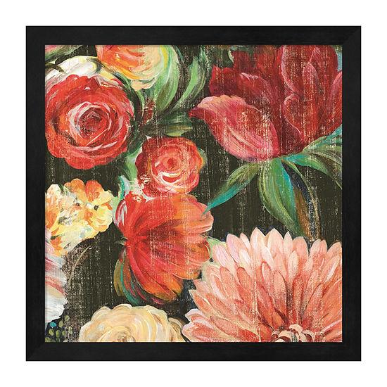 Lavish Blooms Ii Framed Wall Art