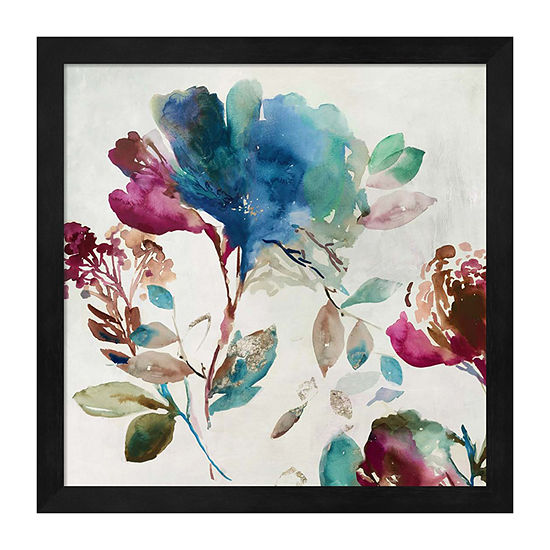 Metaverse Art Blossoming I Framed Wall Art