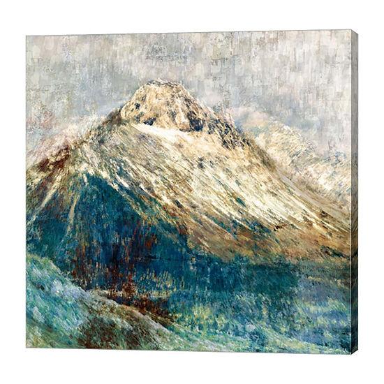 Metaverse Art Mountain I Canvas Art