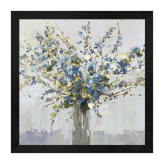 Metaverse Art Bouquet Framed Wall