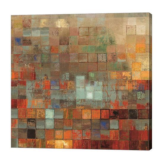 Metaverse Art Organized Canvas Art