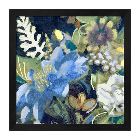 Metaverse Art Bouquet III Framed Wall Art