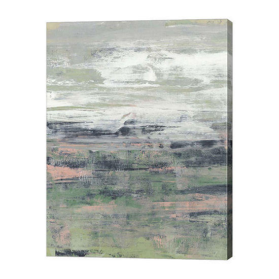 Metaverse Art Paynes Blush I Canvas Wall Art