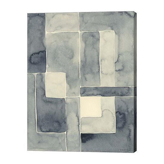 Metaverse Art Blockade I Canvas Wall Art
