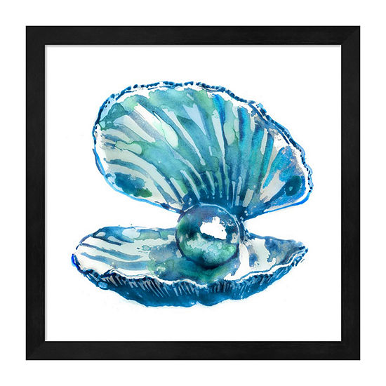 Metaverse Art Oyster Framed Wall Art
