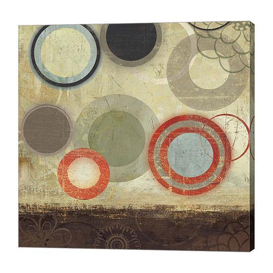 Metaverse Art Circles I Canvas Art