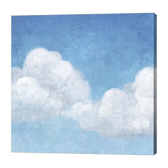 Metaverse Art Cloudy I Canvas Art