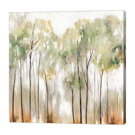 Metaverse Art In the Fog I Canvas Art