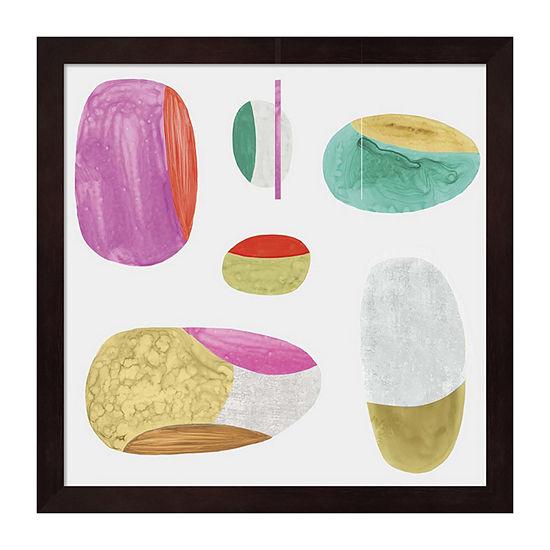 Metaverse Art Color Combo II Framed Wall Art