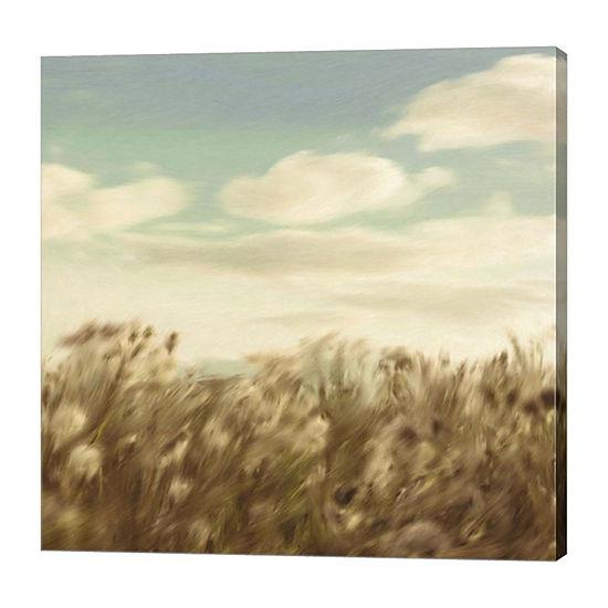 Metaverse Art Dandelion Field Canvas Art