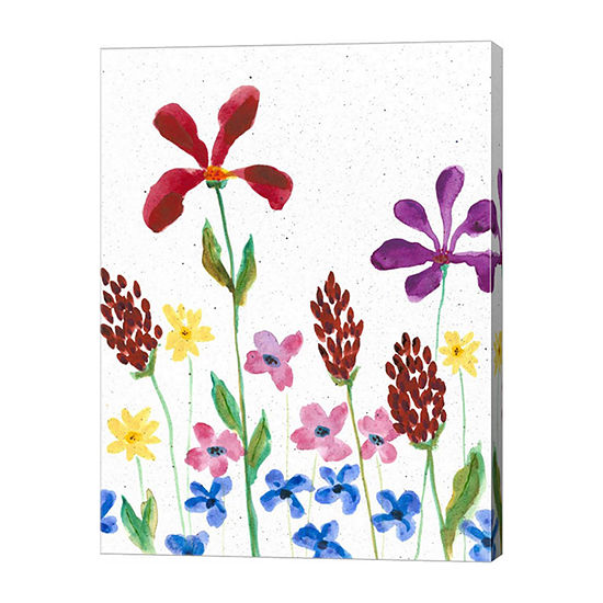 Metaverse Art Vivid Whimsy II Canvas Wall Art