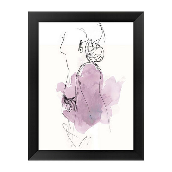 Metaverse Art Fashion Splash I Framed Wall Art