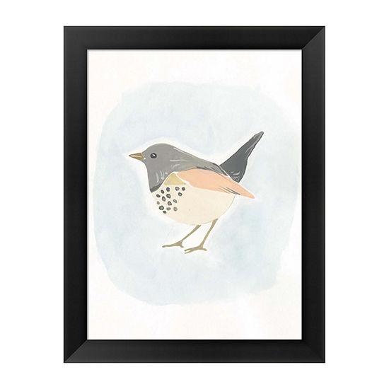 Metaverse Art Dapper Bird IV Framed Wall Art