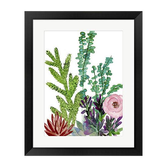 Metaverse Art Little Garden II Framed Wall Art