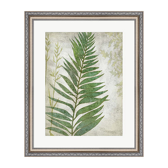 Metaverse Art Frond I Framed Wall Art